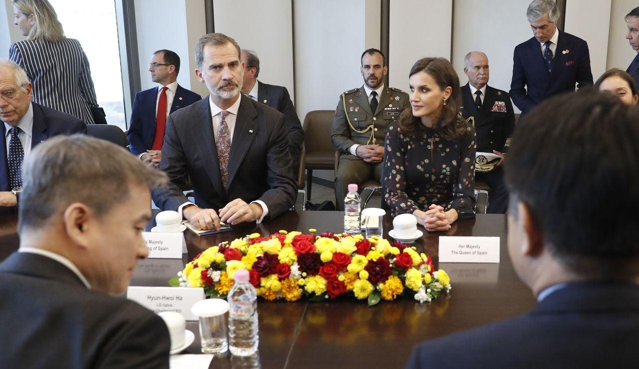 Los reyes de España, Felipe VI y Letizia