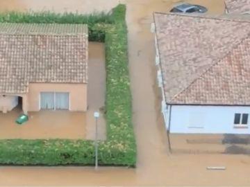 La DANA causa graves inundaciones en Francia