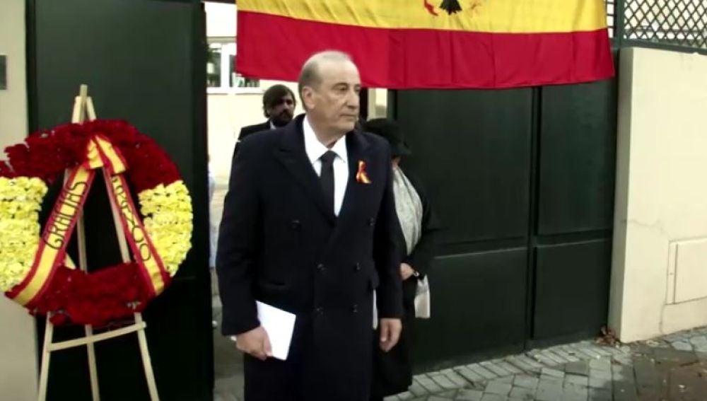 Francisco Franco, nieto mayor del dictador