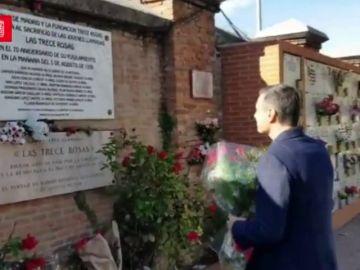 Pedro Sánchez homenajea a las Trece Rosas