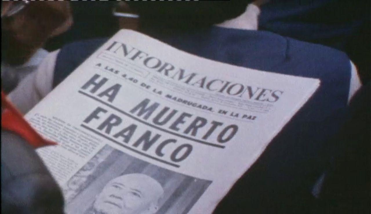 """El anuncio de la muerte del dictador: """"Españoles, Franco ha muerto"""""""