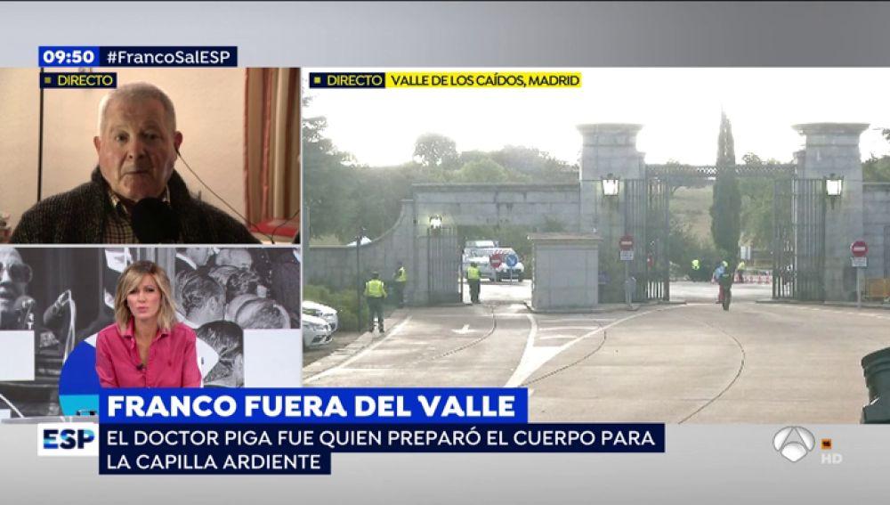 """El embalsamador de Franco: """"El cadáver estará duro y disminuido como una momia egipcia"""""""