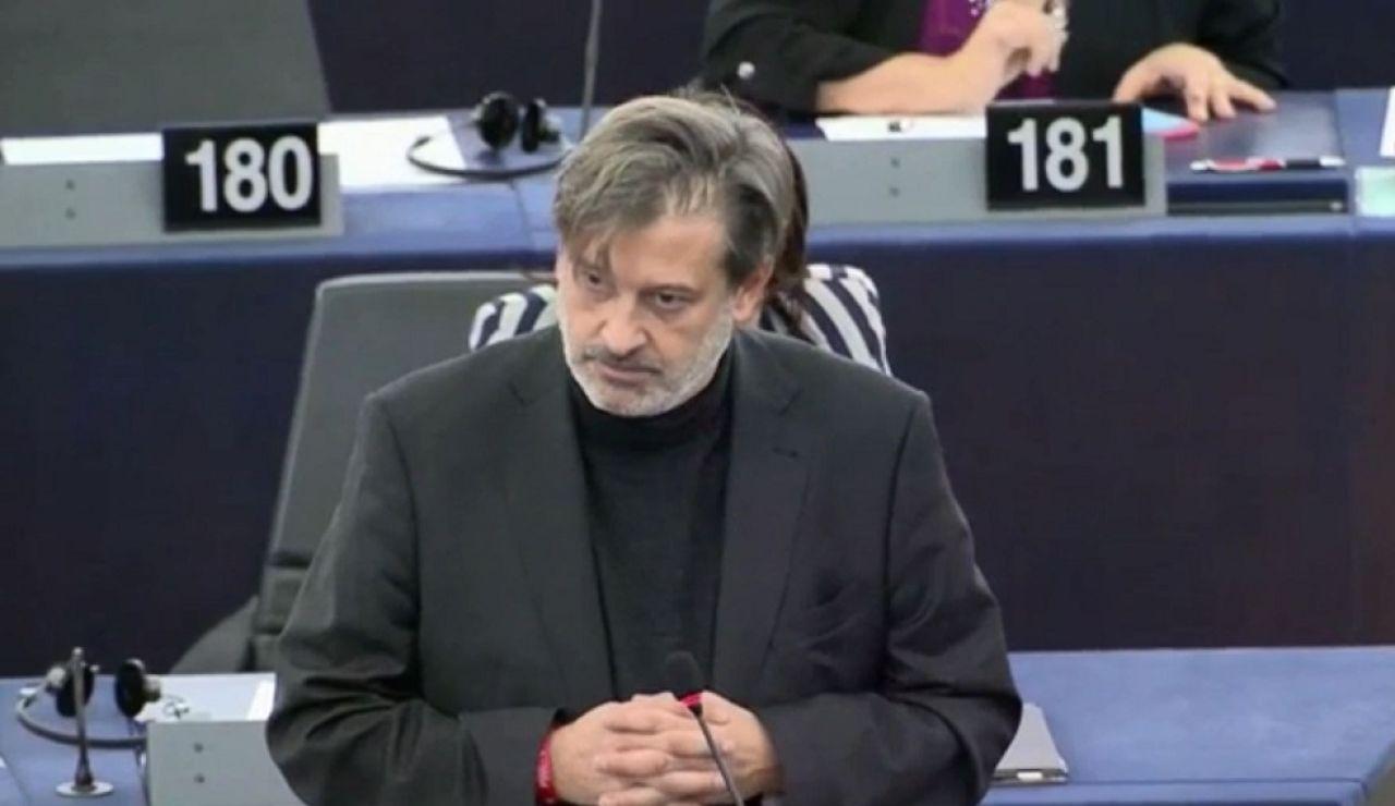 El eurodiputado socialista Javier Moreno