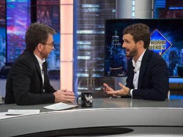 """Pablo Casado en 'El Hormiguero 3.0' sobre el futuro de los jóvenes catalanes: """"Lo que les están ofreciendo es un engaño"""""""