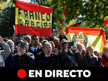 Exhumación Franco: Última hora de la inhumación en Mingorrubio, en directo