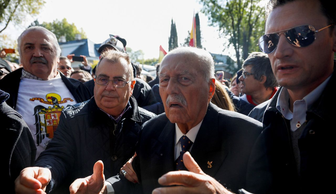 El ex teniente coronel de la Guardia Civil que encabezó el fallido golpe de Estado del 23 de febrero de 1981, Antonio Tejero