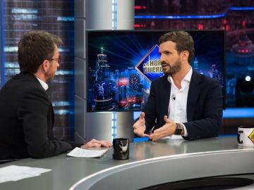 """Pablo Casado en 'El Hormiguero 3.0': """"Prometo bajar los impuestos y los voy a bajar"""""""