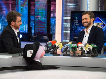 Pablo Casado 'se convierte' en Pablo Motos en la sección de Trancas y Barrancas
