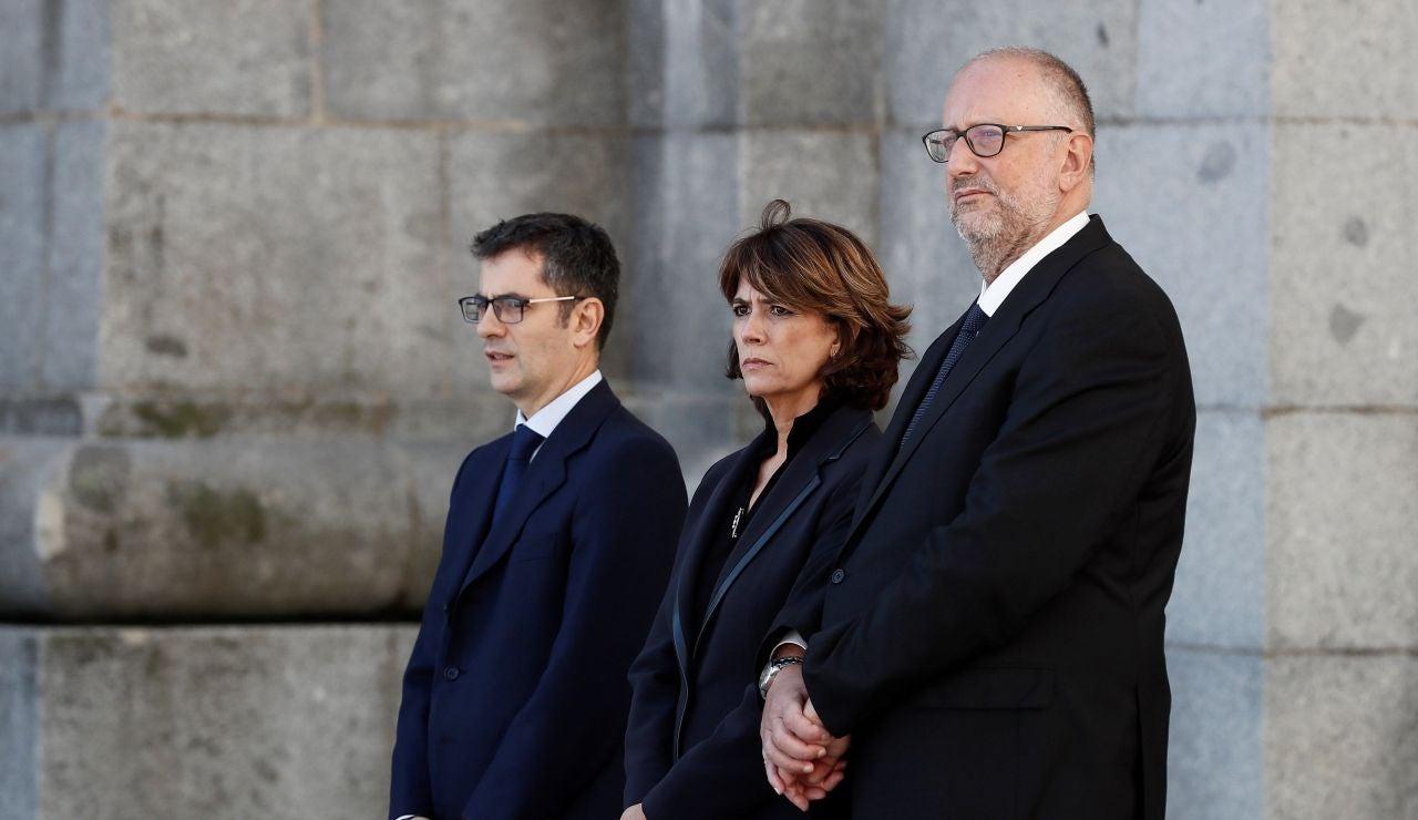 La ministra en funciones de Justicia, Dolores Delgado