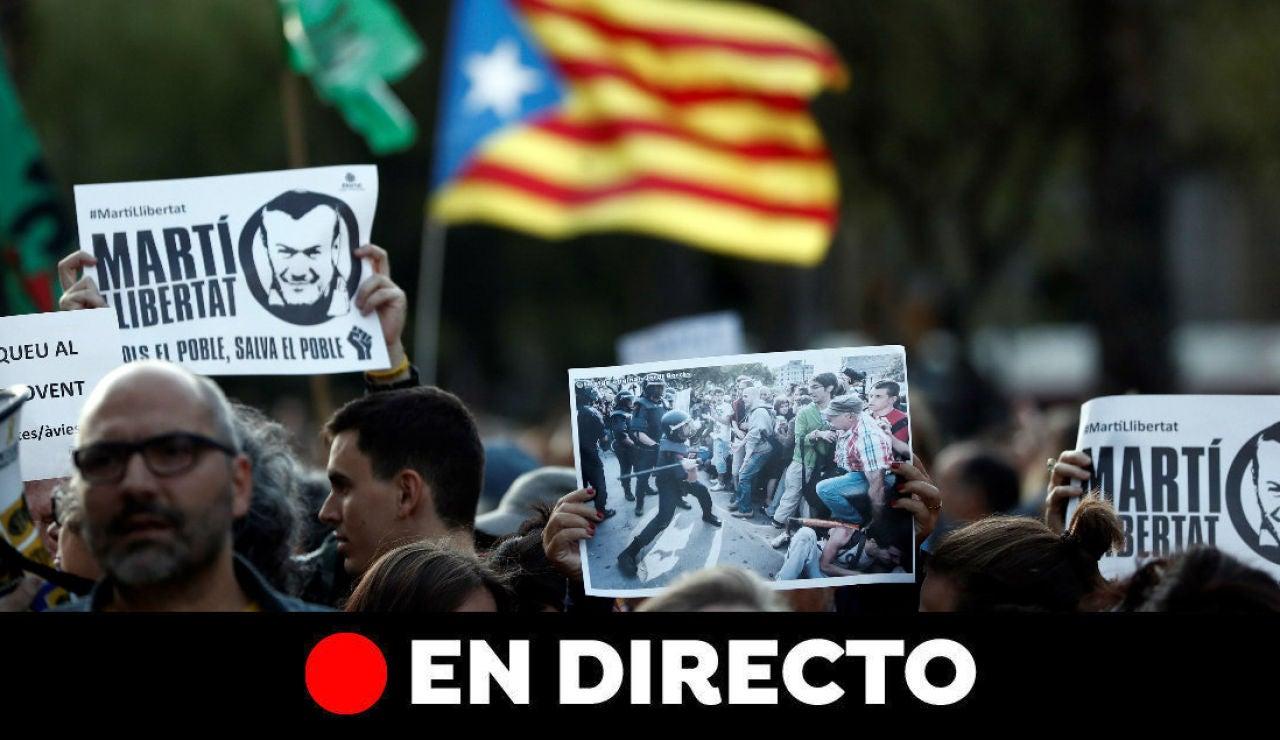 Cataluña: Última hora de las protestas y cortes de carreteras en Barcelona y Cataluña, en directo