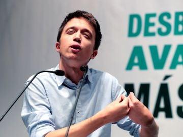 El candidato de Más País a la Presidencia del Gobierno, Íñigo Errejón