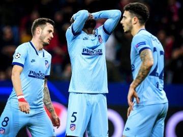 Thomas se lamenta tras su gol en propia puerta