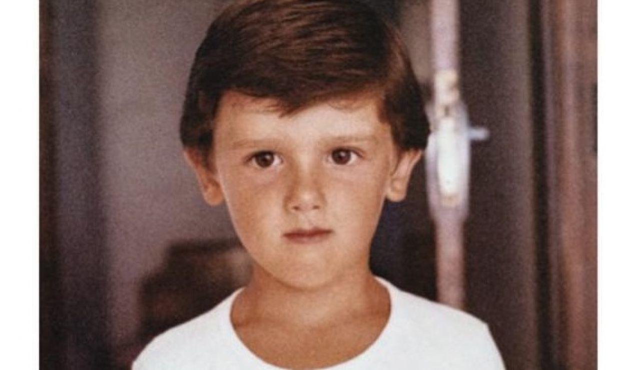Albert Rivera de pequeño