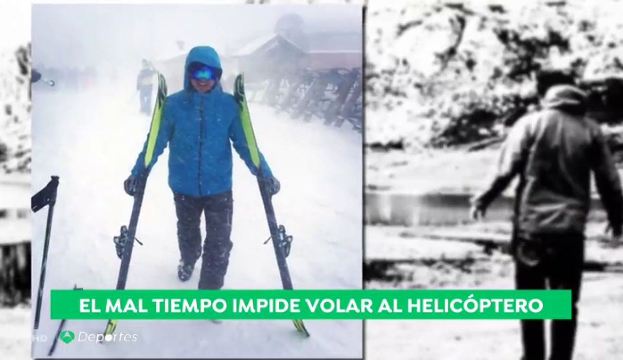 El peligrosísimo rescate del cadáver de un montañero en el Almanzor
