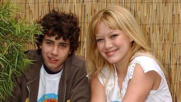 Adam Lamberg y Hilary Duff de 'Lizzie McGuire'