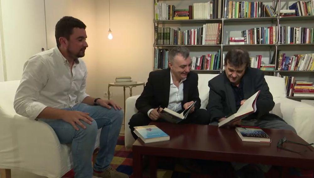 El reto de Antena 3 Noticias para Javier Cercas y Manuel Vilas, ganador y finalista del Premio Planeta 2019