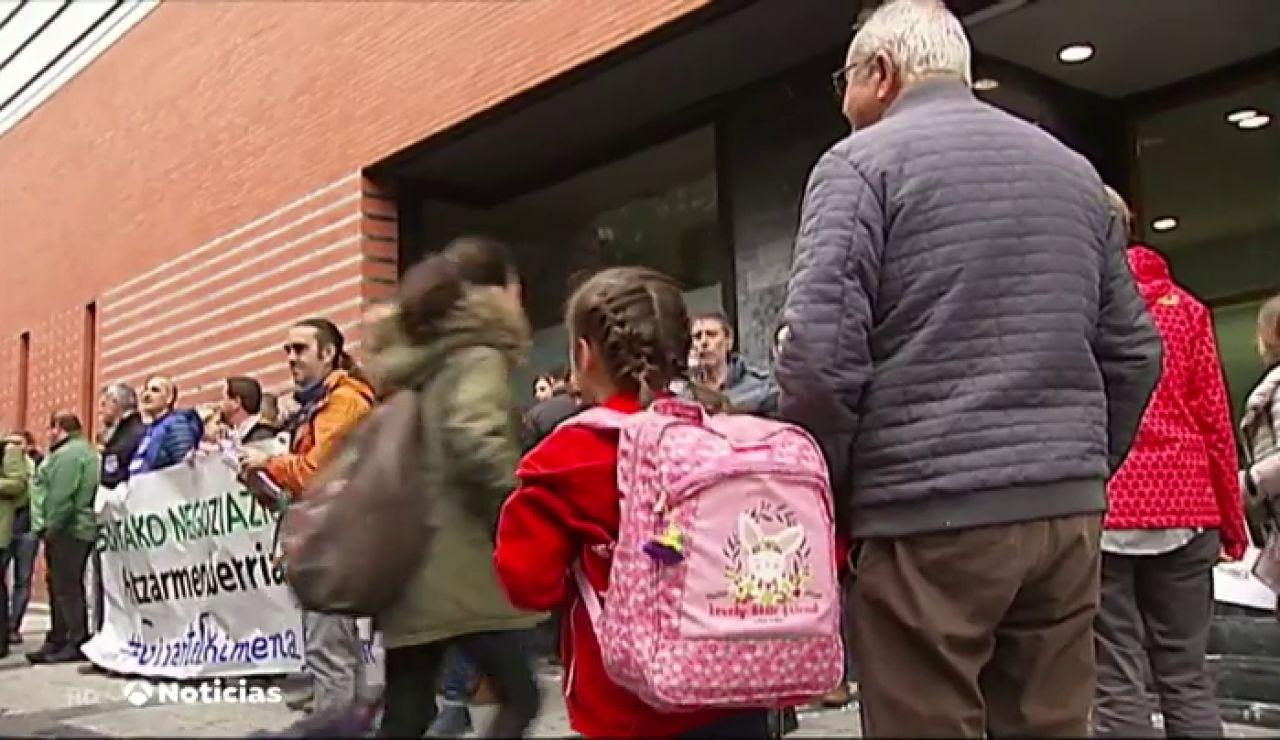 La huelga de los colegios concertados dejará a más de 100.000 alumnos sin clase el próximo mes