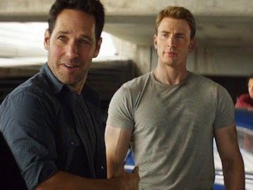 Paul Rudd y Chris Evans