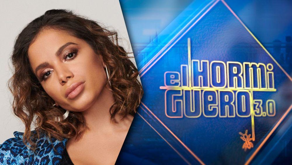 La cantante Anitta pone música a 'El Hormiguero 3.0'