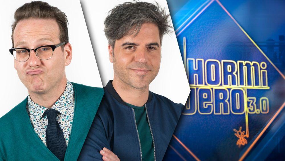 El miércoles, noche de humor en 'El Hormiguero 3.0' con los actores y cómicos Ernesto Sevilla y Joaquín Reyes