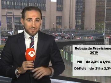 REEMPLAZO Bruselas rebaja su previsión de crecimiento para España