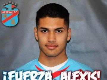 Alexis Salinas, jugador del Arsenal de Sarandí