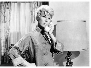 La actriz Doris Day en una de sus películas.