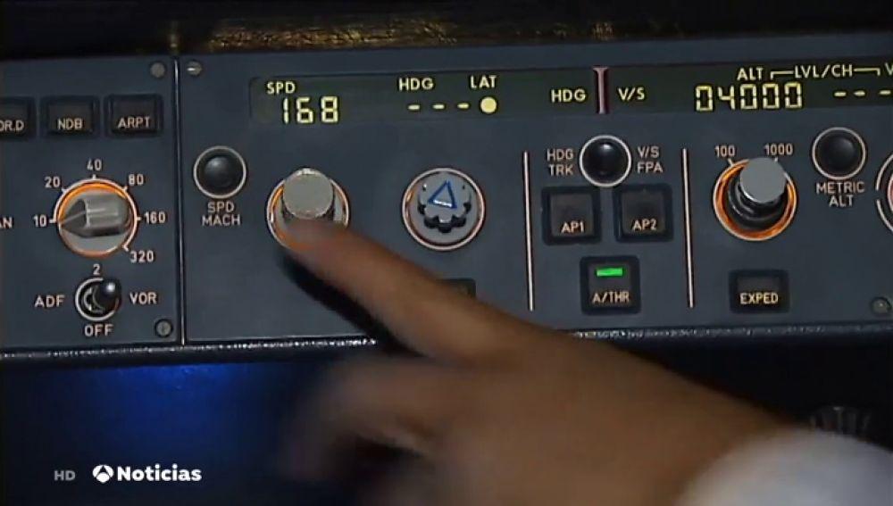 Los aviones cuentan con un código numérico para notificar posibles incidencias