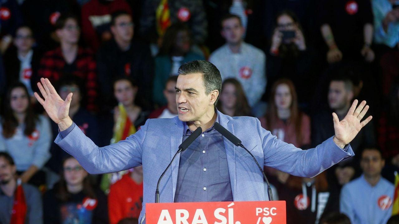 """Pedro Sánchez Hace Un Llamamiento Al Voto """"masivo"""" Para"""