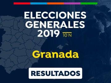 Elecciones generales 2019: Resultado de las elecciones generales en Granada el 10-N