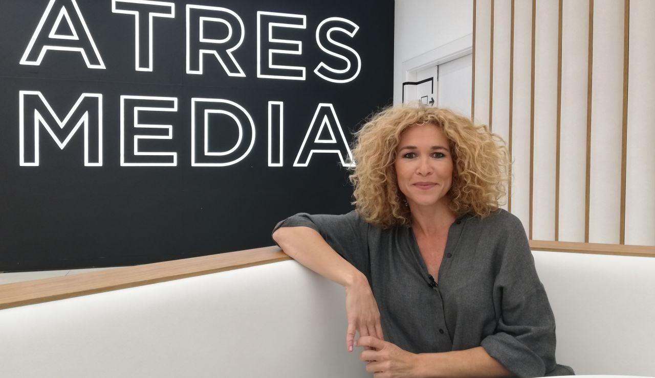 La periodista Cristina Fernández.