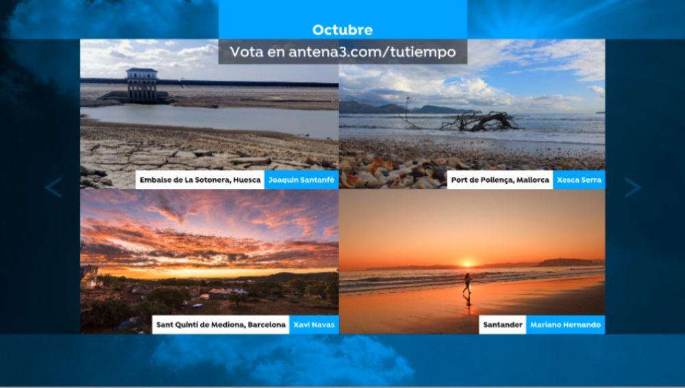 Vota por la mejor foto del mes de octubre.