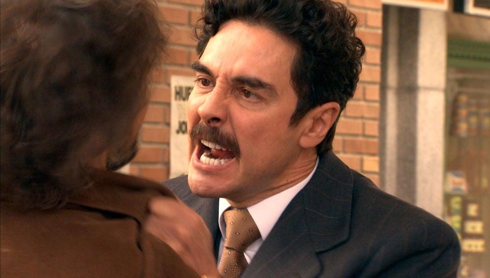 Armando se encara con Guillermo