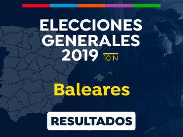 Elecciones generales 2019: Resultado de las elecciones generales en Baleares el 10-N
