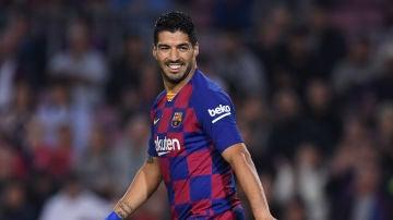 Luis Suárez se recupera de su lesión