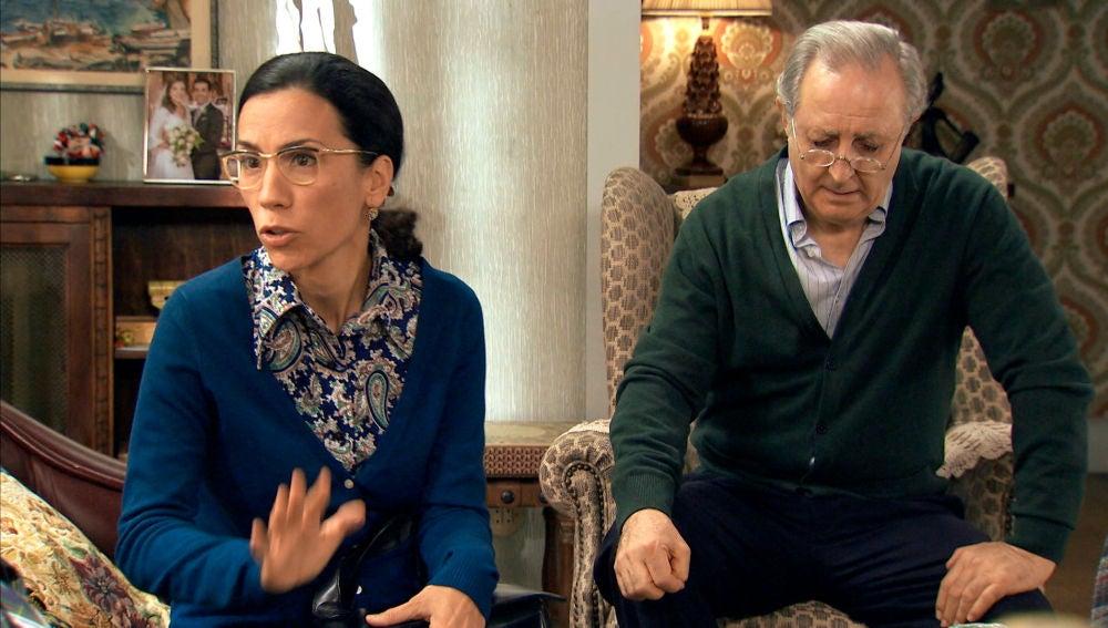 Pelayo y Manolita se disculpan con Marcelino