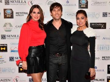 Javián durante la gala de premios en Sevilla