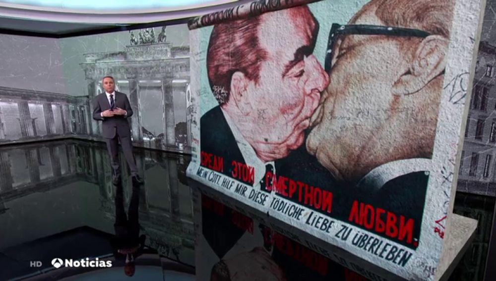 Alemania abre al público uno de los túneles utilizados por los alemanes para huir bajo el muro de Berlín