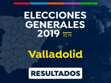 Elecciones generales 2019: Resultado de las elecciones generales en Valladolid el 10-N