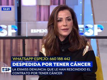 La modelo Inés Sainz.
