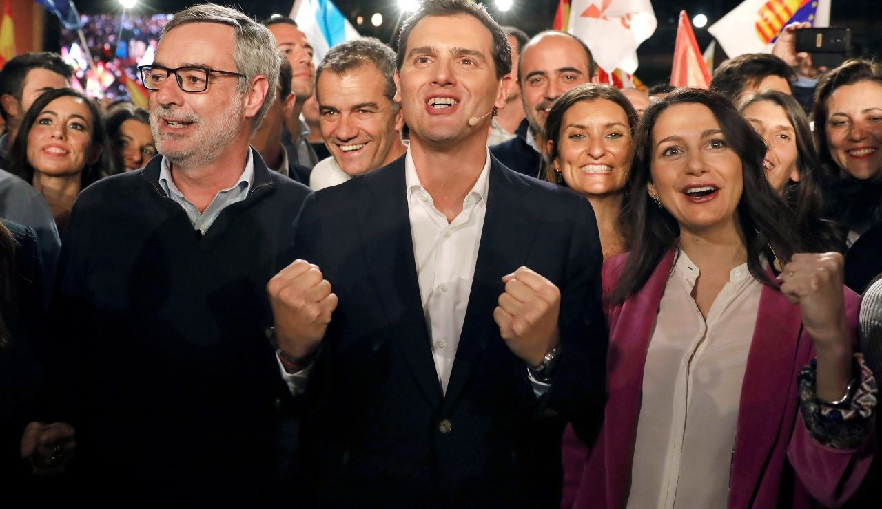 Elecciones generales 2019: cierre de campaña de Ciudadanos