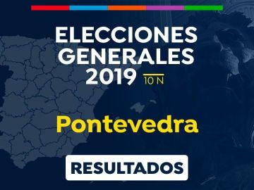 Elecciones generales 2019: Resultado de las elecciones generales en Pontevedra el 10-N