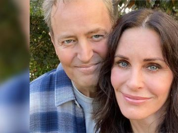 Courteney Cox y Matthew Perry