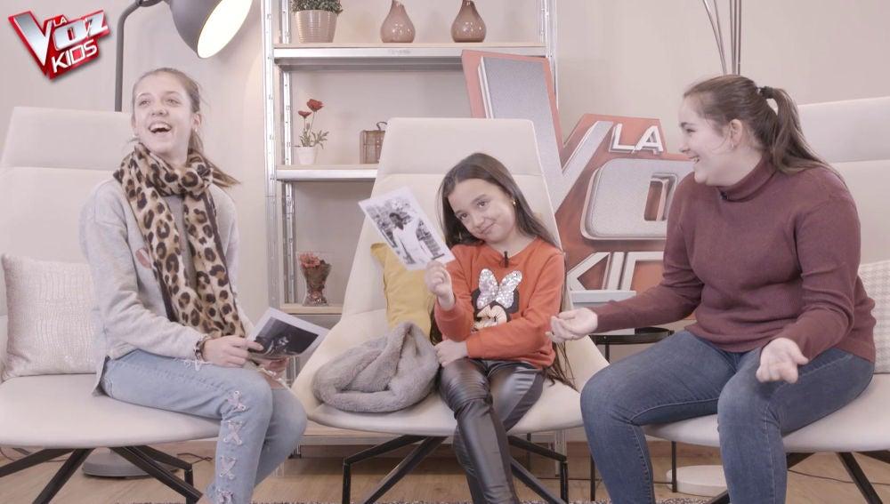 Los talents de 'La Voz Kids' descifran qué famoso cantante se esconde tras las imágenes de su juventud