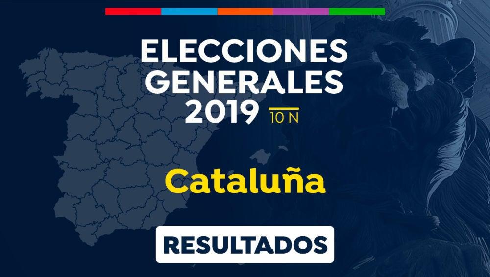 Elecciones generales 2019: Resultado de las elecciones generales en Cataluña el 10-N