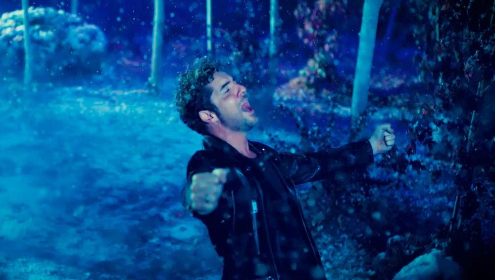 David Bisbal en el videoclip de 'Frozen 2'
