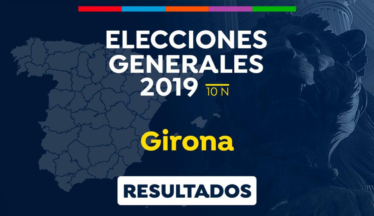 Elecciones generales 2019: Resultado de las elecciones generales en Girona el 10-N