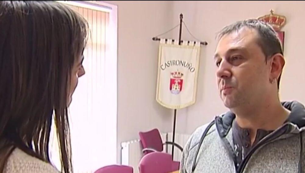 Antena 3 Noticias habla con el alcalde de Castronuño