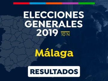 Elecciones generales 2019: Resultado de las elecciones generales en Málaga el 10-N