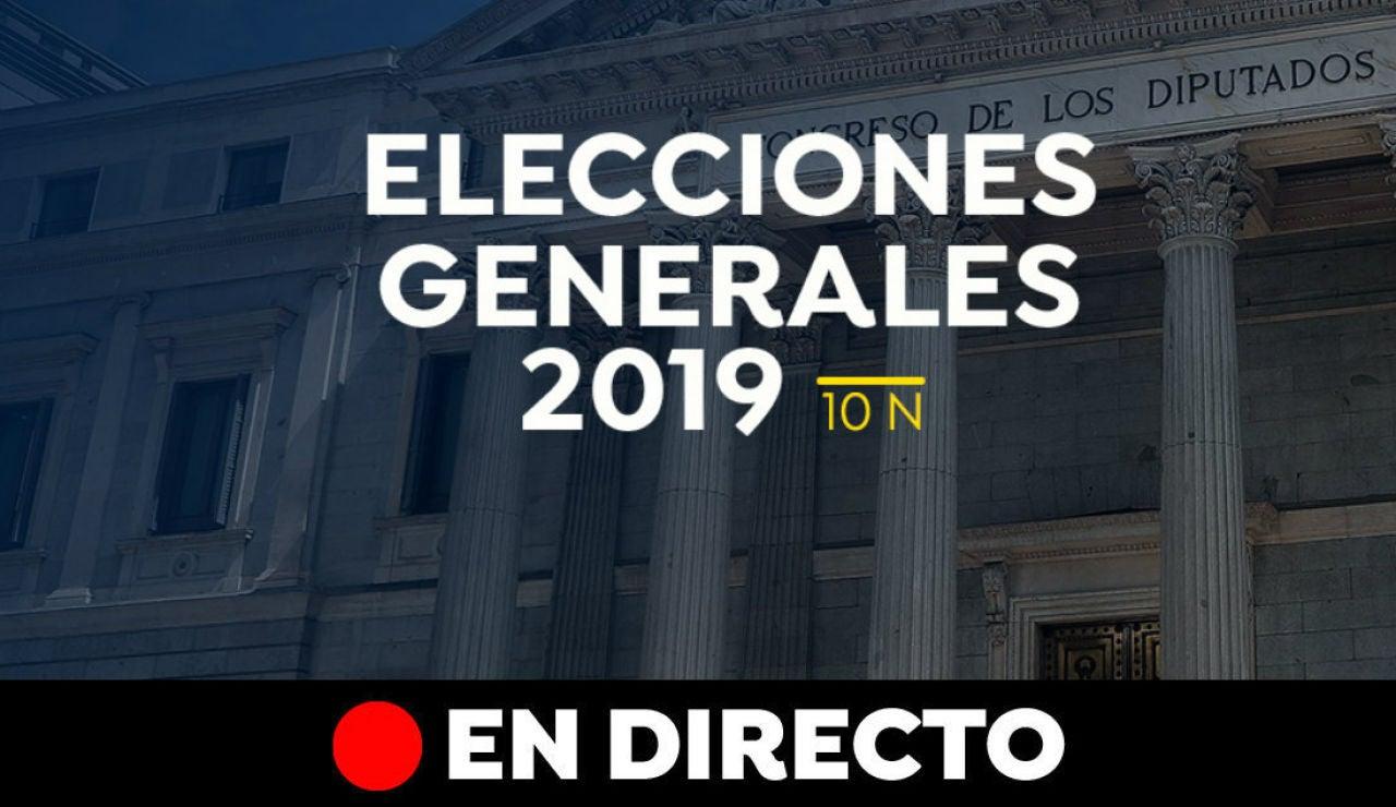 Elecciones generales 2019: Cierre de campaña del 10-N y última hora, en directo